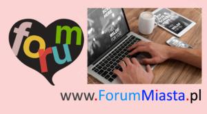 forum z serduszkiem — napis T w. BIZNES